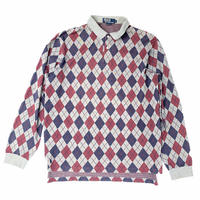 """POLO by Ralph Lauren """" Polo L/S shirt """" (spice) #H1"""