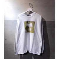 "CYDERHOUSE ×頭脳警察  ""Brain Police 1 Long Sleeve shirt""(white)"