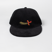 WACKO MARIA/ CORDUROY 6 PANEL CAP (TYPE-3)(black)