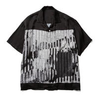 "KOSUKE KAWAMURA × GODHOOD × F-LAGSTUF-F ""S/S RAYON SHIRTS"" (black)"
