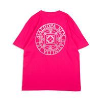 Diaspora skateboards / 404 Magic Circle Tee (tropical pink)