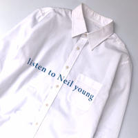 tr.4 suspension / listen to Neil young L/S Shirt
