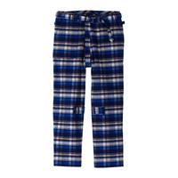 PHINGERIN / BONTAGE PANTS FRANNEL (blue check)
