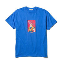 "F-LAGSTUF-F x DRAGON BALL / ""GOKU"" Tee (blue)"