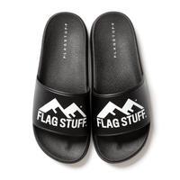 "F-LAGSTUF-F  ""FW"" LOGO SANDAL (black)"