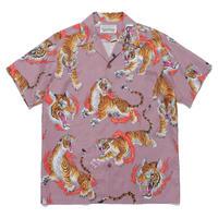 """WACKO MARIA × TIM LEHI """"S/S Hawaiian shirt """" (type-2)  (pink)"""