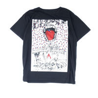 "THREE FACE / SS Crew Neck T-Shirt ""TEE15"" (black)"