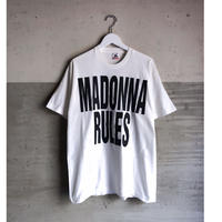 "90's MADONNA ""madonna rules Tee""  (spice)"