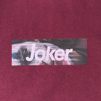 JOKER Tee  005 (burgundy)