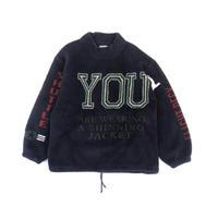 """""""fleece P/O jacket"""" イタリア製 (BULBS VINTAGE )"""