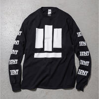 "Tenjinyu / 10th ""BUSINESS AS USUAL"" L/S Tee (black)"