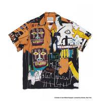 "WACKO MARIA × JEAN-MICHEL BASQUIAT /  ""Hawaiian shirt S/S  (type-4)"