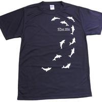 Tシャツ イルカ(ネイビー)