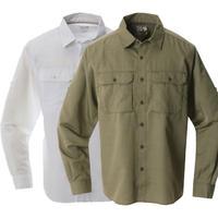 【DM便180円】MOUNTAIN HARDWEAR|Canyon Solid Long Sleeve Shirt