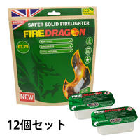 FIREDRAGON|SAFER SOLID FIRELIGHTER 12SET
