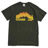 【DM便180円】KAVU|Rainier 01 Tee Forest