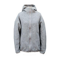 Yetina / fullzip hoodie / feather gray