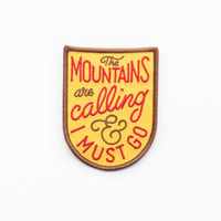 Kimberlin Co. / THE MOUNTAINS ARE CALLING PATCH