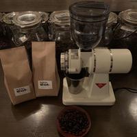 カリタ ナイスカットG コーヒーミルとコーヒー豆400gのセット
