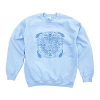 Mandala Sweatshirt - Light Blue