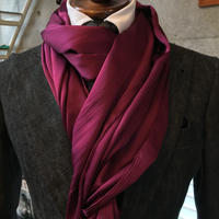 Silk Satin  Stole Long