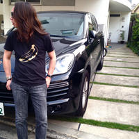 GOLD BANANA プリントTシャツ 〜BLACK BANANA〜