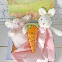 バニーズバイザベイ 安心毛布ミニ付ギフトBOXセット ピンク