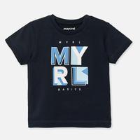 Mayoral(マヨラル)ベビー ベーシックロゴTシャツ/ネイビー