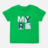 Mayoral(マヨラル)ベビー ベーシックロゴTシャツ//グリーン