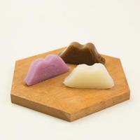 【米粉のお菓子】からすみ(白、紫芋、黒糖)