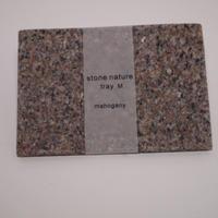 stone nature tray M mahogany