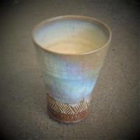 乳濁釉ビアカップ《S酒2u1》
