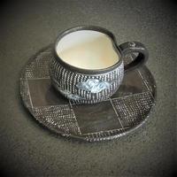 印花雲文コーヒー碗《S飲2i6》