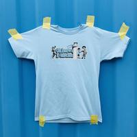 Okinawa E-Motion × Ms.Little Chico オリジナルTシャツ NO.2 / ブルー