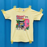 Okinawa E-Motion × Ms.Little Chico オリジナルTシャツ NO.1/ イエロー