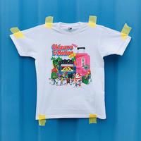 Okinawa E-Motion × Ms.Little Chico オリジナルTシャツ NO.1 / ホワイト
