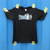 Okinawa E-Motion × Ms.Little Chico オリジナルTシャツ NO.2 /ブラック