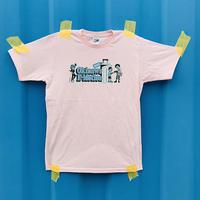 Okinawa E-Motion × Ms.Little Chico オリジナルTシャツ NO.2 / ピンク