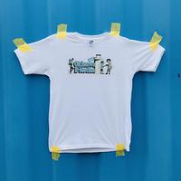 Okinawa E-Motion × Ms.Little Chico オリジナルTシャツ NO.2 / ホワイト