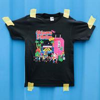 Okinawa E-Motion × Ms.Little Chico オリジナルTシャツ NO.1 / ブラック
