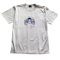 """Oh!theGuilt×MY RULES / """"CHECK OUR MIND""""S/S T-SHIRT (ASH)"""