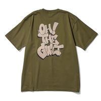 """Oh!theGuilt / """"THROW UP""""S/S T-SHIRT(CITY GREEN)"""