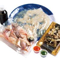 とらふぐ刺身・アラセット2〜3人前 冷凍