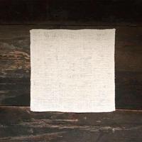 [ORGANIC] 純和綿【ARAU】タオル (小)  -ワッフル織り-
