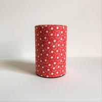 型紙和紙の茶筒