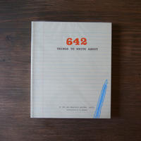 CHRONICLE BOOKS ( クロニクルブックス ) 642 Things to Write Jul