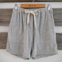 SUNDAY IN BED short OLIVIA home frottee grau