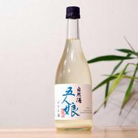 令和3年春搾り新酒 限定醸造  五人娘純米生原酒 かすみ酒 720ml