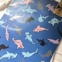 包装紙【サメ】/akky