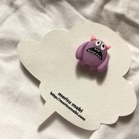 ブローチ【変な生き物立体ブローチ・ノーマル】5/morisu maki